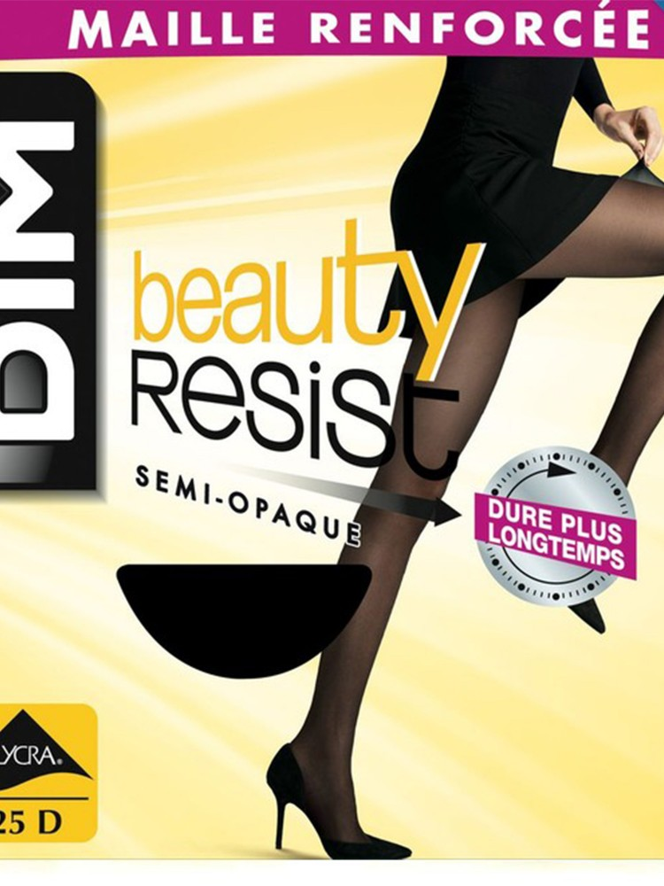 Beauty resist semi opaque 25d - Noir