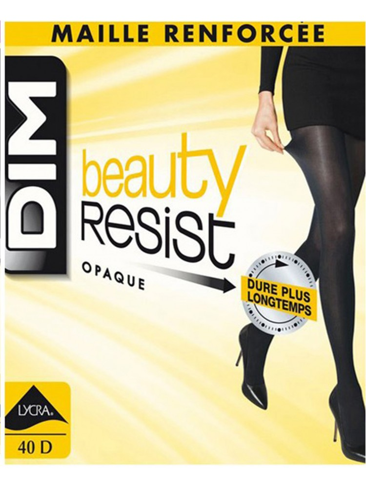 Beauty resist opaque 40d - Noir